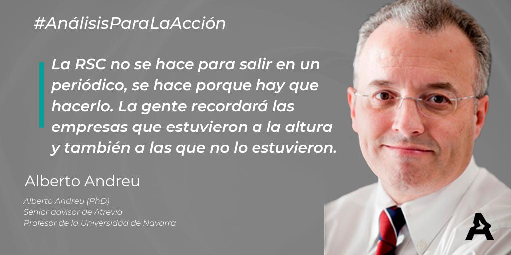 Entrevista para Atrevia: Análisis para la acción (#ATREVIACovid19)