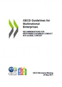 2011 Update of the OECD Guidelines for Multinational Enterprises