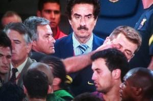 """El """"Dedo"""", de Mourinho. El """"Daño"""", del Real Madrid"""
