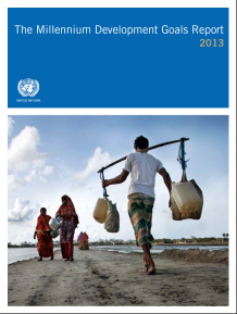 UN publishes The Millennium Development Goals Report 2013